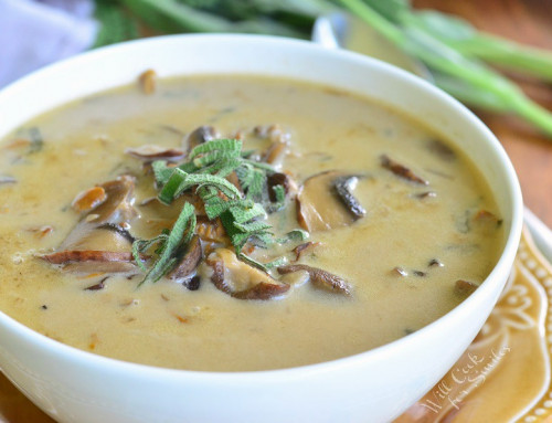 Cream Soup with Mushroom